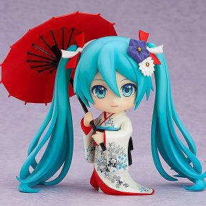 Vocaloid Hatsune Miku Korin Kimono Ver. Nendoroid 1427 Good Smile Company UK Vocaloid anime figures UK Animetal vocaloid miku hatsune nendoroid UK