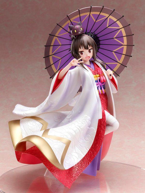 Konosuba Megumin Statue Shiromuku Ver. 1/7 Scale FuRyu UK Kono Subarashii Sekai ni Shukufuku wo! Statue 1/7 Megumin Shiromuku Ver. 22 cm UK animetal