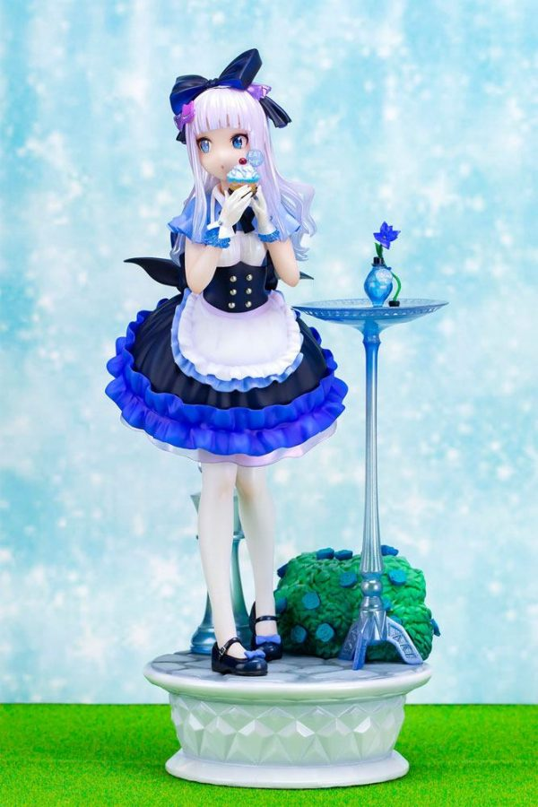 Original Character Blue Alice Statue Illustration by Fuji Choko Fots Japan UK Blue Alice Figure UK Original Character Statues UK Animetal