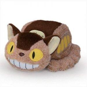 My Neighbor Totoro Beanbag Plush Figure Catbus Sun Arrow UK Studio Ghibli merchandise UK Catbus plushie UK studio ghibli UK Animetal