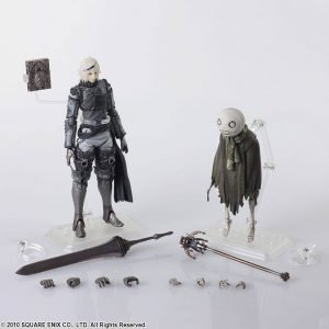 NieR RepliCant Bring Arts Action Figure 2-Pack Nier & Emil Square Enix UK NieR RepliCant Bring Arts Action Figure 2-Pack Nier & Emil 6-16cm UK Animetal