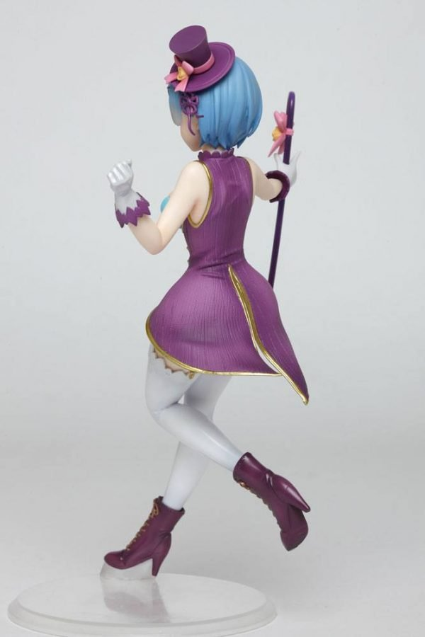 Re:ZERO Rem Statue Magician Ver. Taito UK Re:Zero PVC Statue Rem Magician Version 23 cm re zero anime figures UK Animetal re:zero official licensed merch uk Animetal