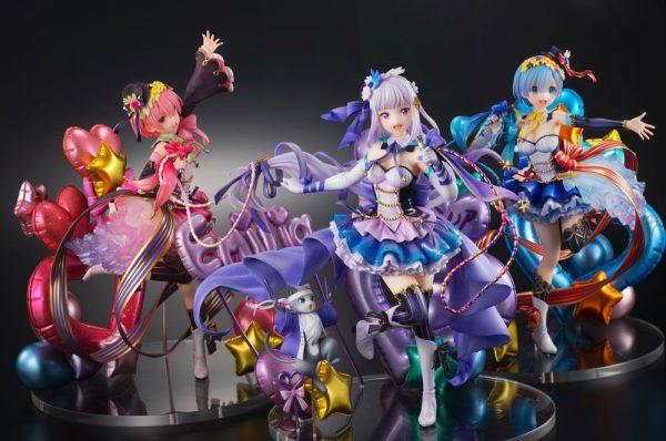Re: Zero Starting Life in Another World Statue Set Idol Ver. 1/7 Scale Estream UK Re: Zero Starting Life in Another World 1/7 Scale statue set UK animetal