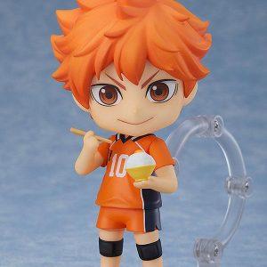 Haikyuu!! Hinata Shoyo Nendoroid The New Karasuno Ver. Orange Rouge UKHaikyu!! Nendoroid Action Figure Shoyo Hinata The New Karasuno Ver. 10cm UK Animetal