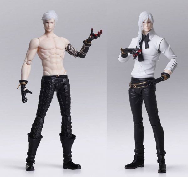 NieR Automata Bring Arts Action Figures Adam & Eve Enix UK NNieR Automata Bring Arts Action Figures Adam & Eve 16 cm UK Animetal Nier figures UK