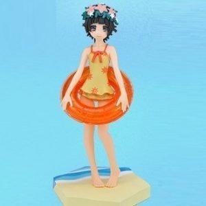 Certain Scientific Railgun Uiharu Kazari Figure Summer Ver. SEGA UK Railgun figures UK Uiharu Kazari figures UK railgun anime figures UK animetal