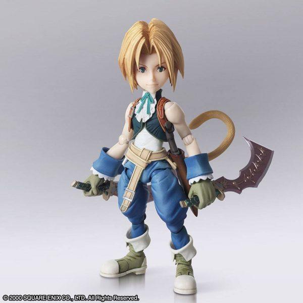Final Fantasy IX Zidane Tribal & Garnet Til Alexandros XVII Action Figures Square Enix UK Final Fantasy IX Bring Arts Action Figures Zidane Tribal & Garnet Til Alexandros XVII 12 - 17cm
