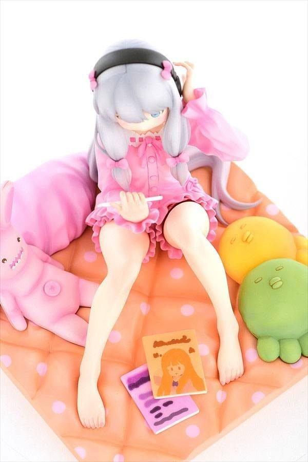 Eromanga Sensei Sagiri Izumi Statue Frontispiece 1/6 Scale Orca Toys UK Eromanga Sensei PVC Statue 1/6 Sagiri Izumi figure UK animetal