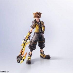 Kingdom Hearts III Sora Bring Arts Action Figure Guardian Form Ver. Square Enix UK Animetal Kingdom Hearts figures UK Kingdom Hearts merchandise UK