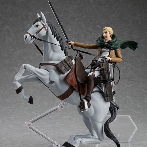 Attack of Titan Erwin Smith Action Figure Figma Max Factory UK Attack on titan anime figures UK Animetal attack on titan erwin smith figma figure UK