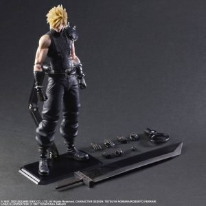 Final Fantasy VII Remake Cloud Strife Play Arts Kai Action Figure Ver. 2 Square Enix UK Final Fantasy action Figures UK Final Fantasy statues UK Animetal