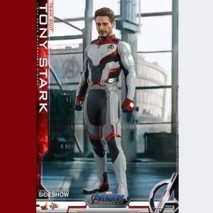 Avengers: Endgame Movie Masterpiece Tony Stark Action Figure 1/6 Scale Hot Toys Marvel UK Avengers tony stark statue UK Animetal Marvel collectibles UK