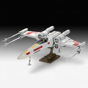 Star Wars Easy-Click Model Kit X-Wing Fighter 1/29 Scale Revell UK Star Wars x-wing fighter scale statues UK ANimetal star wars x-wing fighter model kits UK