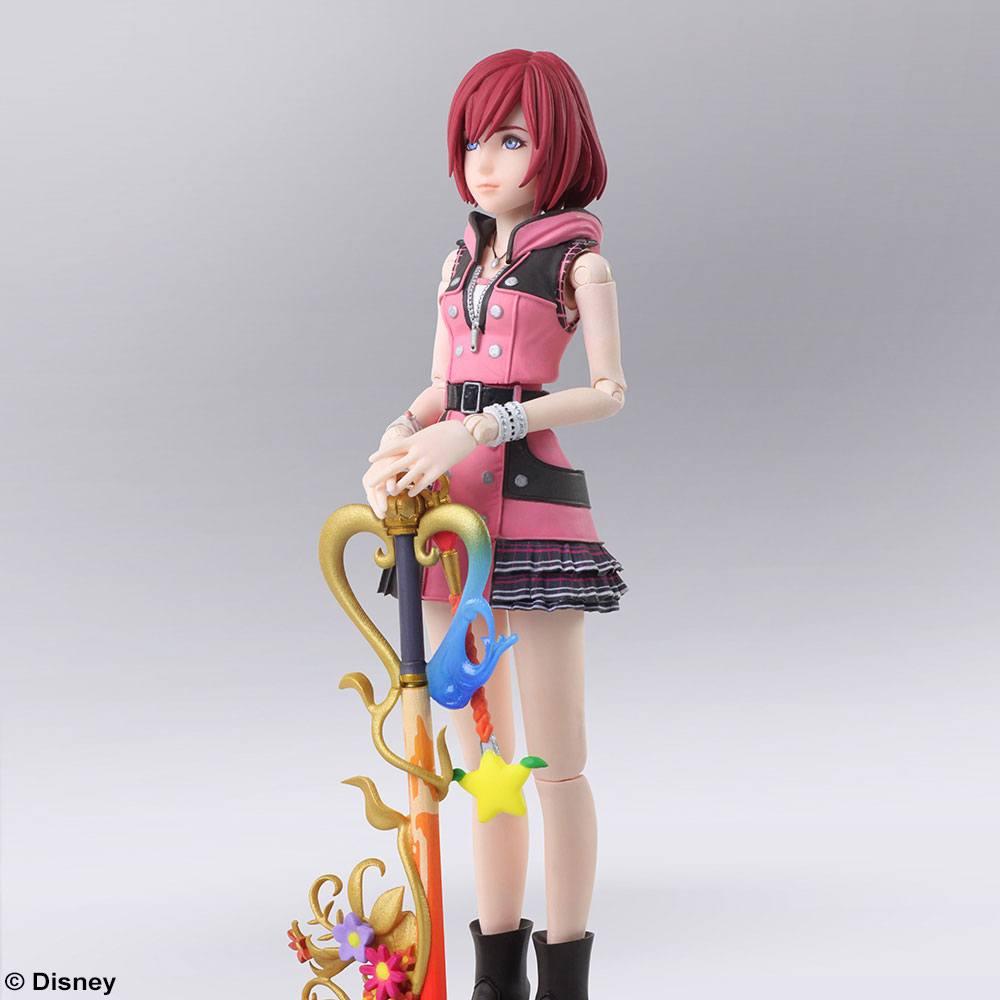 Kairi Bring Arts Action Figure New Collectible Kingdom Hearts 3