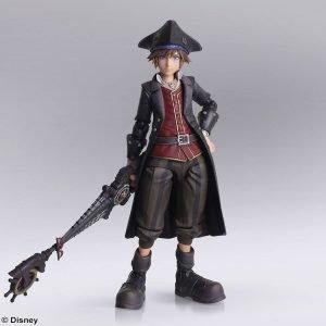 Kingdom Hearts III Sora Bring Arts Action Figure Pirates of the Caribbean Ver. Square Enix UK Animetal Kingdom Hearts figures UK Kingdom Hearts merchandise