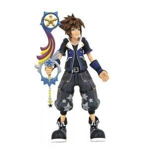 Kingdom Hearts III Sora Wisdom Form Action Figure Diamond Select UK Animetal Kingdom Hearts figures UK Kingdom Hearts merchandise UK Kingdom Hearts UK