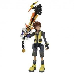 Kingdom Hearts III Sora Guardian Form Action Figure Diamond Select UK Animetal Kingdom Hearts figures UK Kingdom Hearts merchandise UK Kingdom Hearts UK