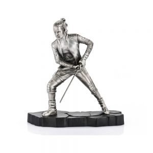 Star Wars Pewter Rey Collectible Statue Limited Edition Limited Edition Royal Selangor UK Star Wars Rey pewter limited edition statue UK Animetal marvel collectibles UK