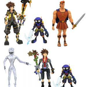 Kingdom Hearts III 6 Action Figure Set Diamond Select UK Animetal Kingdom Hearts figures UK Kingdom Hearts merchandise UK Kingdom Hearts UK