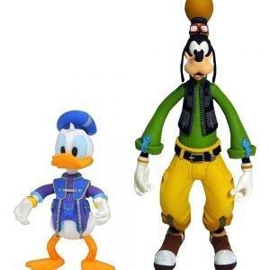 Kingdom Hearts III Goofy & Donald Action Figures Set Diamond Select UK Animetal Kingdom Hearts figures UK Kingdom Hearts merchandise UK Kingdom Hearts UK
