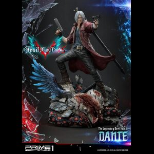 Devil May Cry 5 Dante Statue Prime 1 Studio 1/4 Scale Limited Edition UK Devil May Cry statues UK Devil May cry limited edition dante resin statues UK Animetal