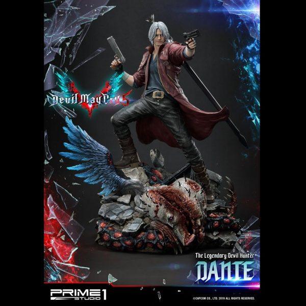 Devil May Cry 5 Dante Statue Prime 1 Studio 1/4 Scale Limited Edition UK Devil May Cry statues UK Devil May cry limited edition dante resin statues UK Animetal