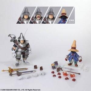 Final Fantasy IX Vivi Ornitier & Adelbert Steiner Bring Arts Action Figures Square Enix UK Final Fantasy action Figures UK Final Fantasy statues UK Animetal