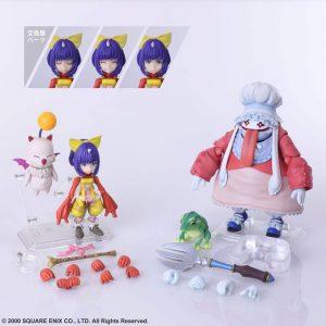 Final Fantasy IX Eiko Carol & Quina Quen Bring Arts Action Figures Square Enix UK Final Fantasy action Figures UK Final Fantasy statues UK Animetal
