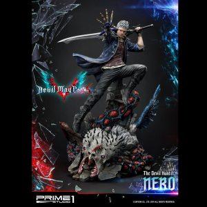 Devil May Cry 5 Nero Statue Prime 1 Studio 70cm Limited Edition UK Devil May Cry statues UK Devil May cry limited edition nero resin statue UK Animetal