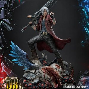 Devil May Cry 5 Dante Statue Prime 1 Studio 1/4 Scale Limited Edition Deluxe UK Devil May Cry statues UK Devil May cry limited edition dante resin statues UK Animetal