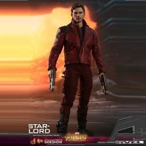 Avengers: Infinity War Movie Masterpiece Star-Lord Action Figure 1/6 Scale Hot Toys Marvel UK Avengers Star-Lord statue UK Animetal Avenger collectibles