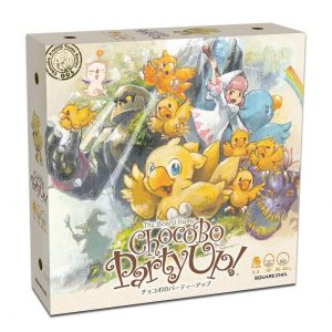 Final Fantasy Chocobo Party Up! Board Game Square Enix UK Final Fantasy Figures UK Final Fantasy statues UK Final Fantasy board game UK Animetal