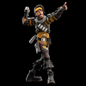 Apex Legends Mirage Mini Epics Vinyl Figure Weta Collectibles UK Apex Legends Figures UK Apex Legends Statues UK Apex Lageneds merchandise UK Animetal