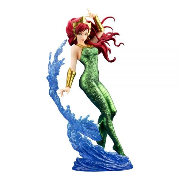 DC Comics Bishoujo Mera PVC Statue 1/7 Scale Kotobukiya UK DC Comics Mera figure DC Comics memorabilia UK dc comics merch UK dc collectibles UK Animetal