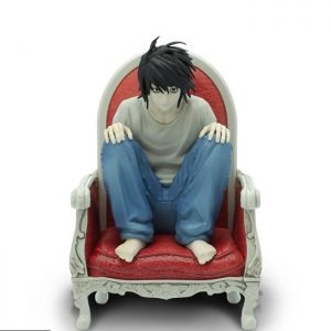 Death Note L PVC Statue 1/10 Scale Abystyle UK Death Note Figures UK Death Note L figures UK Death note L statues UK animetal death note anime