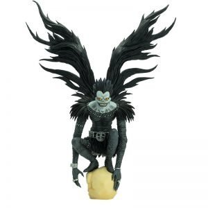 Death Note Ryuk PVC Statue 1/10 Scale Abystyle UK Death Note Figures UK Death Note ryuk figures UK Death note ryuk statues UK animetal