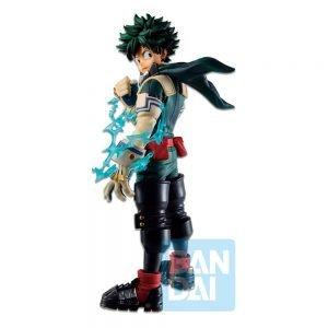 My Hero Academia Izuku Midoriya Dou PVC Statue Ichibansho Let's Begin! Bandai UK My Hero Academia Anime figures UK Animetal midoriya figures UK Animetal
