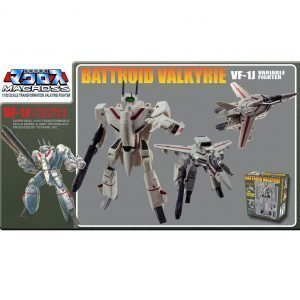 Macross Retro Transformable Collection Action Figure 1/100 VF-1J Ichijo Valkyrie Toynami UK macross action figures UK Macross anime figures UK Animetal