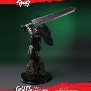 Berserk Guts Black Swordsman Resin Statue 68cm First 4 Figures UK berserk anime figures UK berserk statues UK berserk guts resin statues UK Animetal
