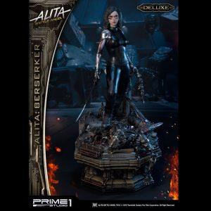 Alita: Battle Angel Statue Alita Berserker Deluxe 64cm 1/4 Scale Prime 1 Studio UK Animetal alita figures UK alita scale statues UK