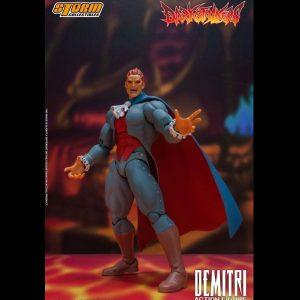 Darkstalkers Action Figure Demitri Maximoff 24 cm 1/12 Scale Storm Collectibles UK Animetal Darkstalkers figures UK Darkstalkers statues UK