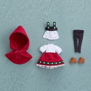 Parts for Nendoroid Doll Figures Outfit Set (Little Red Riding Hood: Rose) UK Animetal nendoroid doll outfit set UK nendoroid clothing set UK