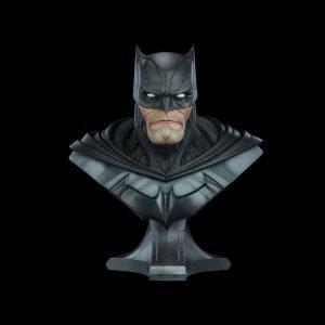DC Comics Batman Bust 1/1 Scale Sideshow Collectibles UK DC Comics memorabilia UK batman statues UK batman life size bust UK Animetal