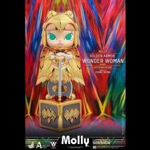 DC Comics Artist Mix Figure Molly Golden Armor Wonder Woman Disguise Hot Toys UK DC Comics molly figure DC Comics wonder woman figure UK Animetal