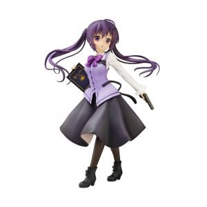 Is the Order a Rabbit? Rize PVC Statue Cafe Style 1/7 Scale Plum UK Is the order a rabbit anime figure UK is the order a rabbit rize statue UK Animetal