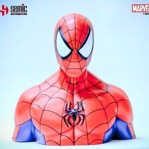 Marvel Comics Spider-Man Coin Bank UK marvel money bank UK spider man coin bank UK marvel collectibles UK Animetal marvel merchandise UK
