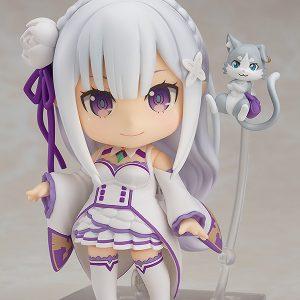 Re:ZERO Starting Life in Another World Emilia Nendoroid Good Smile Company UK Re zero anime figures UK rezero emilia figures UK Animetal