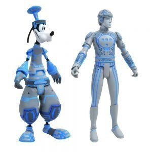 Kingdom Hearts Select Action Figures 2-Pack Goofy & Tron Diamond Select UKkingdom hearts figures UK kingdom hearts action figures UK Animetal
