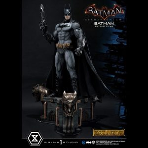 Batman Arkham Knight Statues 1/3 Batman Batsuit v7.43 Regular & Exclusive Prime 1 Studio UK Batman statues UK prime 1 studio statues UK Animetal