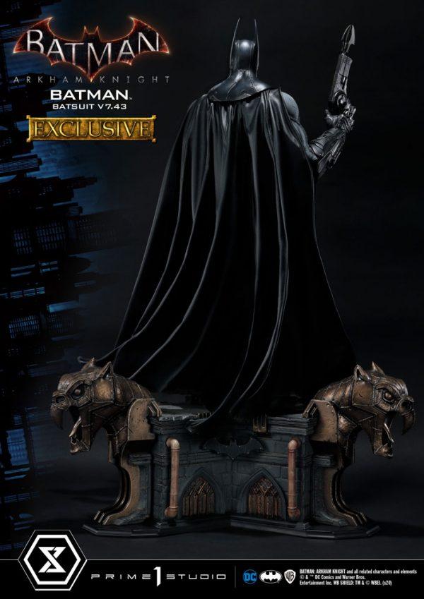 Batman Arkham Knight Statues 1/3 Batman Batsuit v7.43 Regular & Exclusive Prime 1 Studio UK Batman statues UK prime 1 studio statues UK Animetal